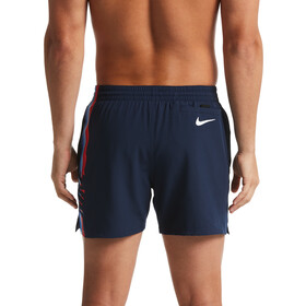 "Nike Swim Retro Stripe Lap 5"" Volley Pantaloncini Uomo, new navy"